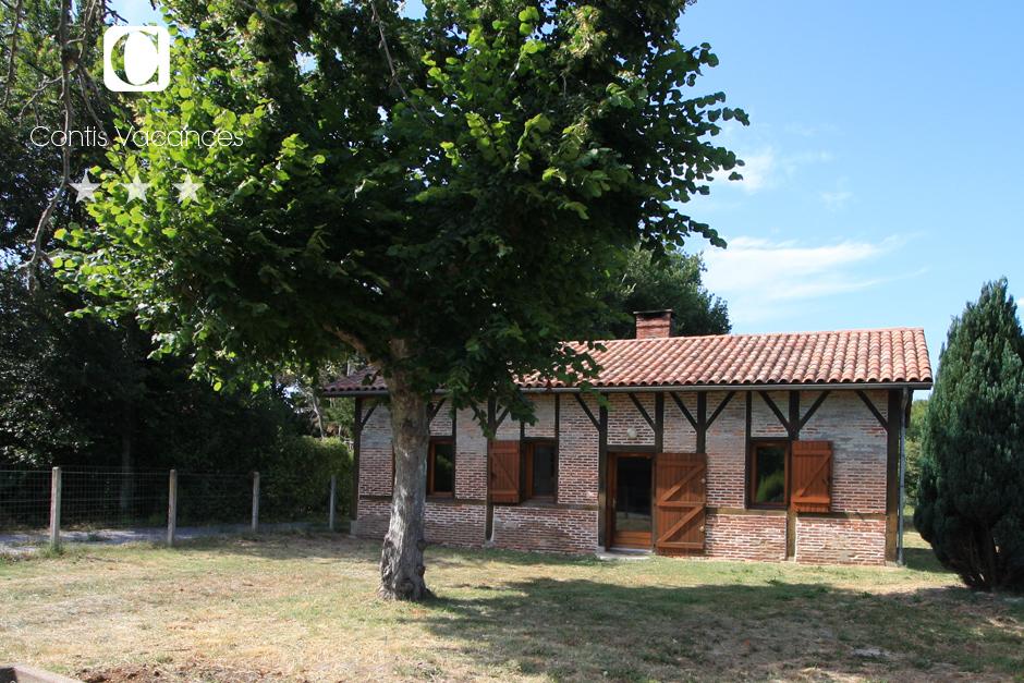 Contis - Ferienhaus Airial • Restauriertes Bauernhaus von 1891